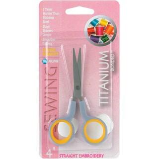 Straight Titanium Embroidery Scissors