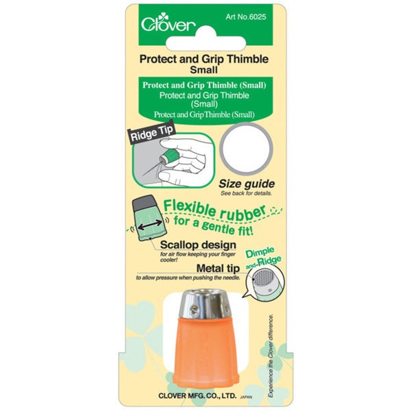Clover Protect and Grip Small Thimble