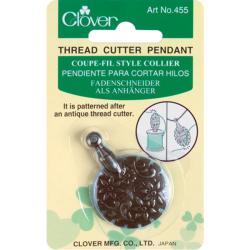 Clover 'Antique Gold Pendant' Thread Cutter