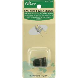 Clover Metal Open-Sided Medium Thimble