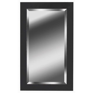 Carter 40x24 Black Ice Wall Mirror