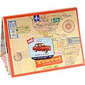 Desktop Coral Border Memo Notepads Set of 6 (Korea)