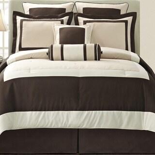 Ivory Gramercy California King-size 8-piece Comforter Set