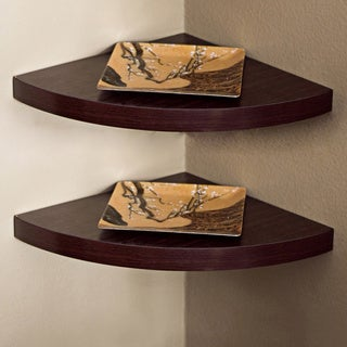 Corner Radial Shelves (Set of 2)