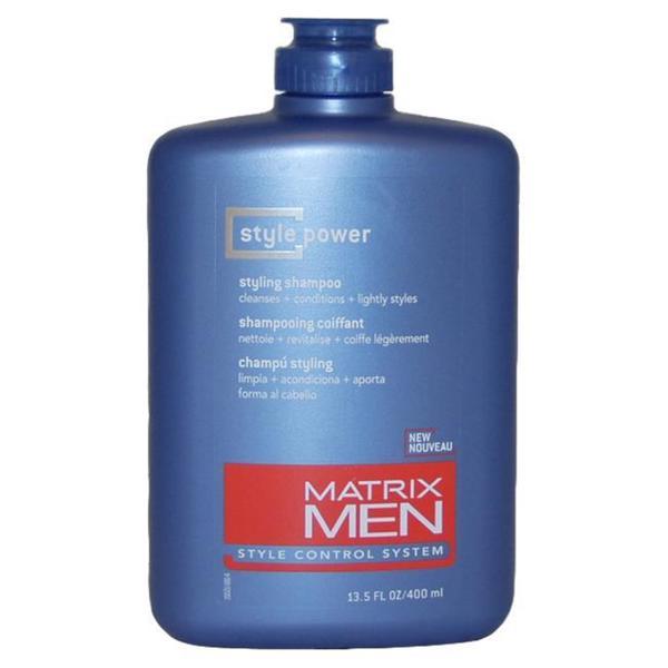 Matrix Men S Men Style 13 5 Ounce Power Styling Shampoo