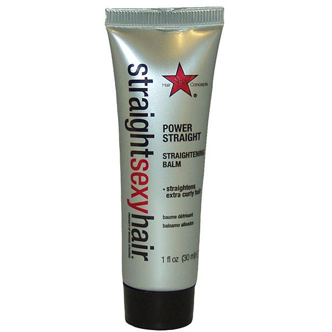 Hair Concepts Straight Sexy Hair Power Straight 1-ounce Straightening Balm