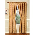 Enzo Gold 108-inch Curtain Panel Pair