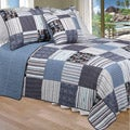 Daniel Full/ Queen-size 3-piece Quilt Set