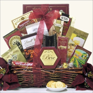 Holiday Wishes Christmas Holiday Gourmet Gift Basket