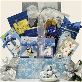 Winter Wonderland Gourmet Christmas Holiday Gift Basket