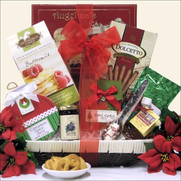 Christmas Morning Wishes Christmas Holiday Breakfast Gift Basket