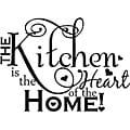 'The Kitchen is the Heart of the Home' Vinyl Art