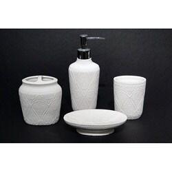 Saachi Bath Accessory 4-piece Set