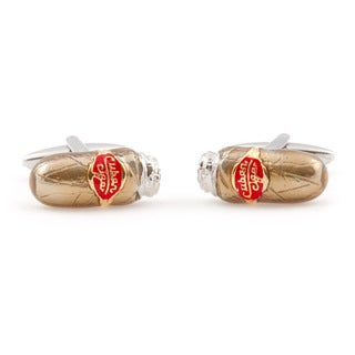 Cuff Daddy Two-Tone Cigar Cufflinks