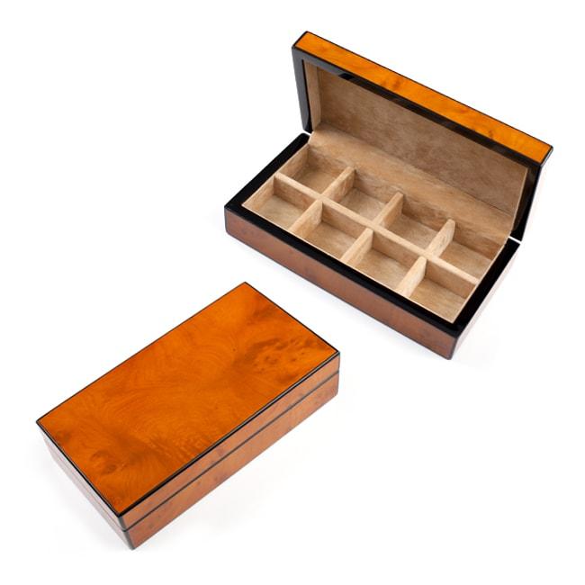 Cuff Daddy Wood Refined Cufflink Box