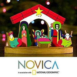 Pinewood 'Christmas in El Salvador' Nativity Scene (El Salvador)