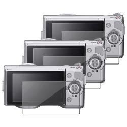 Screen Protector for Sony Alpha NEX 3/ NEX 5 (Pack of 3)