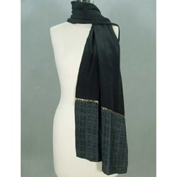 Silk 'Illusions' Scarf (India)