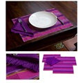 Set of 4 Cotton 'Zunil Inspired' Placemats and Napkins (Guatemala)