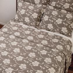 Isadora Khaki Matelasse Full-size Bedspread