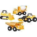 American Plastic Toys Construction Vehicles (case or 12)