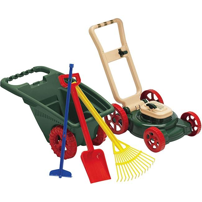 Overstock Toys For Boys : American plastic toys piece garden set overstock