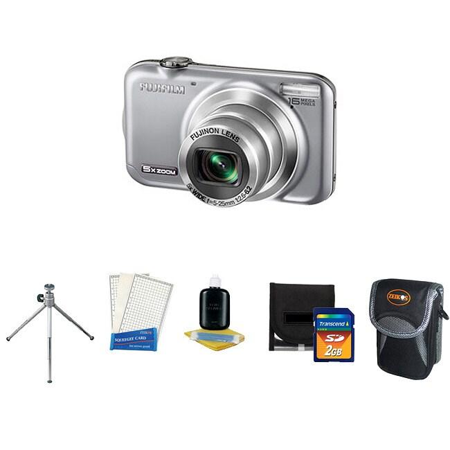 Fuji FinePix JX400 16MP Digital Camera with Accessory Kit (refurbished)