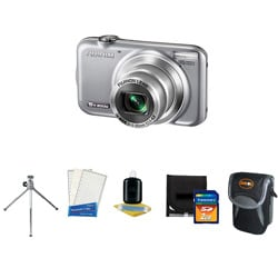 Fuji FinePix JX400 16MP Digital Camera with Accessory Kit (refurbished)