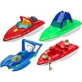 American Plastic Toys Deluxe Boat Assortment Toys Set (Case of 24)