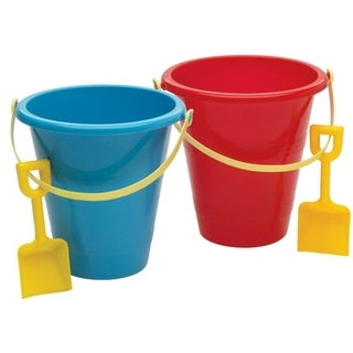American Plastic Toys 8-inch Pail and Shovel Set (Case of 36)