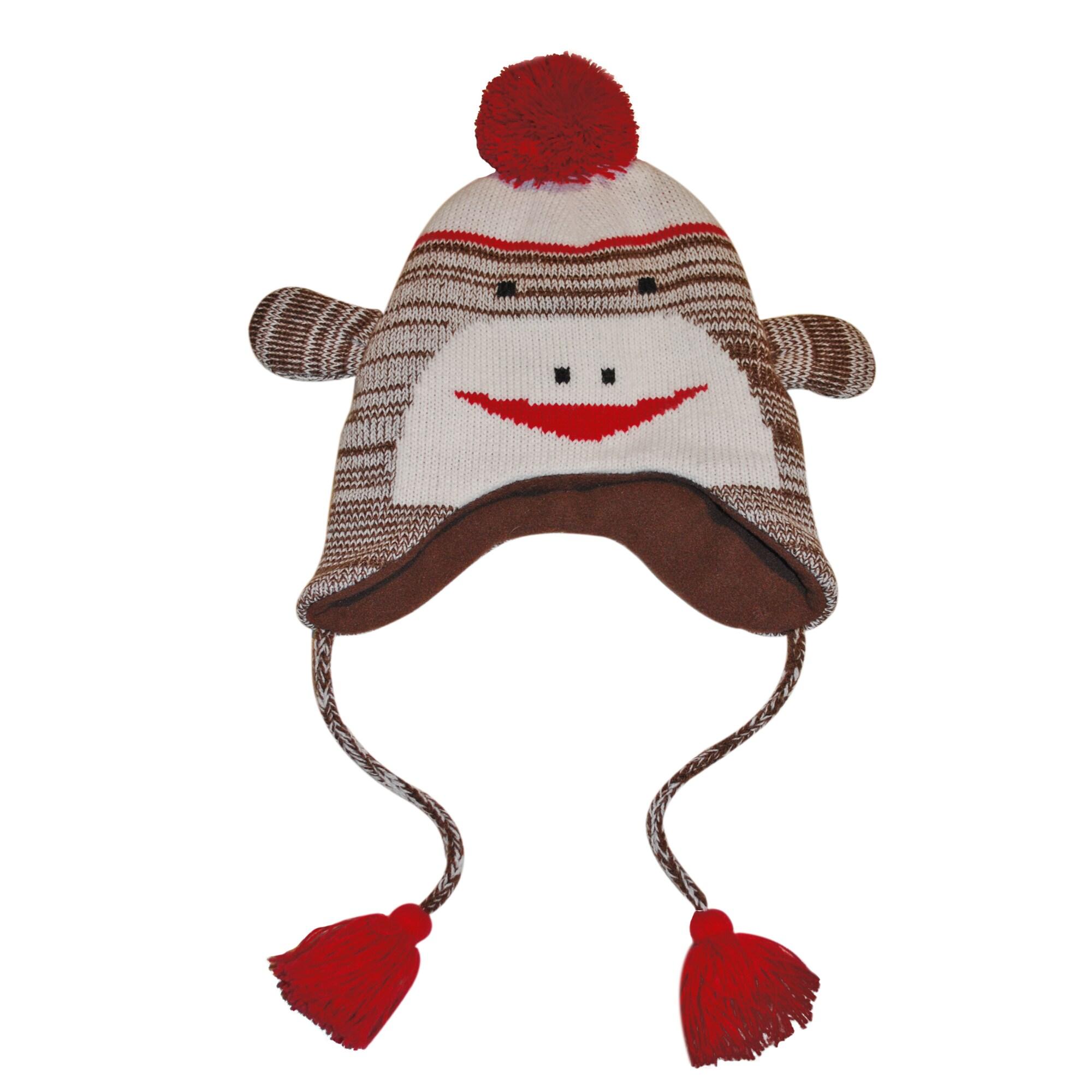 Muk Luks Children's Monkey Hat