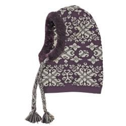 Muk Luks Women's Swirly Scrolls Adjustable Hood