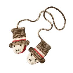 Muk Luks Children's Monkey Mittens