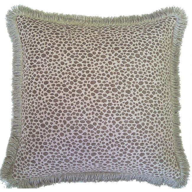Decor European Woven Animal Print Decorative Throw Pillow