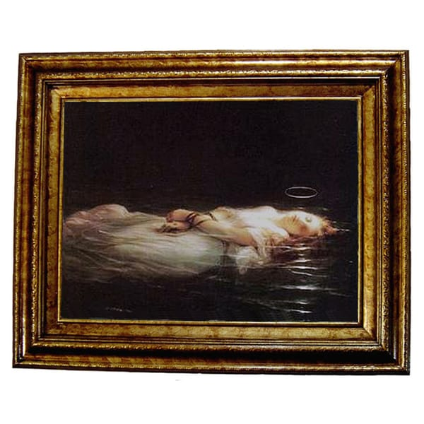 Le Jeune Martyre Framed Canvas