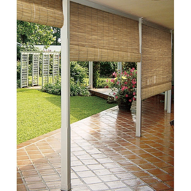 Reed Natural Outdoor Roll up Blinds 36 x 72