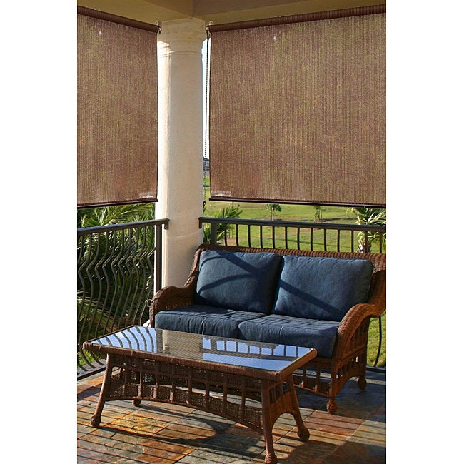 Montecito Espresso Outdoor Shade (72 in. x 72 in.)