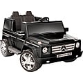Black 12V Mercedes Benz Two-seater G55 AMG Ride-on Toy Vehicle