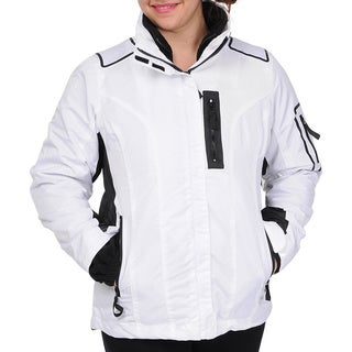 R & O Women's 3-in-1 Water-resistant Hooded Jacket