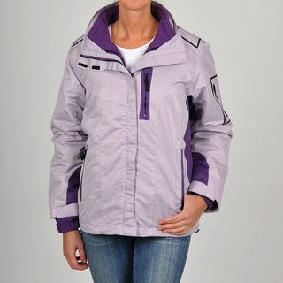 R&O Women's 3-in-1 Water-resistant Hooded Jacket