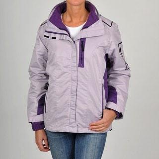 R&O Women's 3-in-1 Water-resistant Hooded Jacket