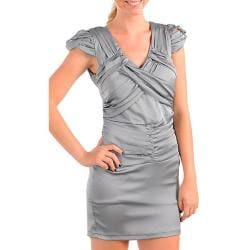 Stanzino Women's Silver Party Dress