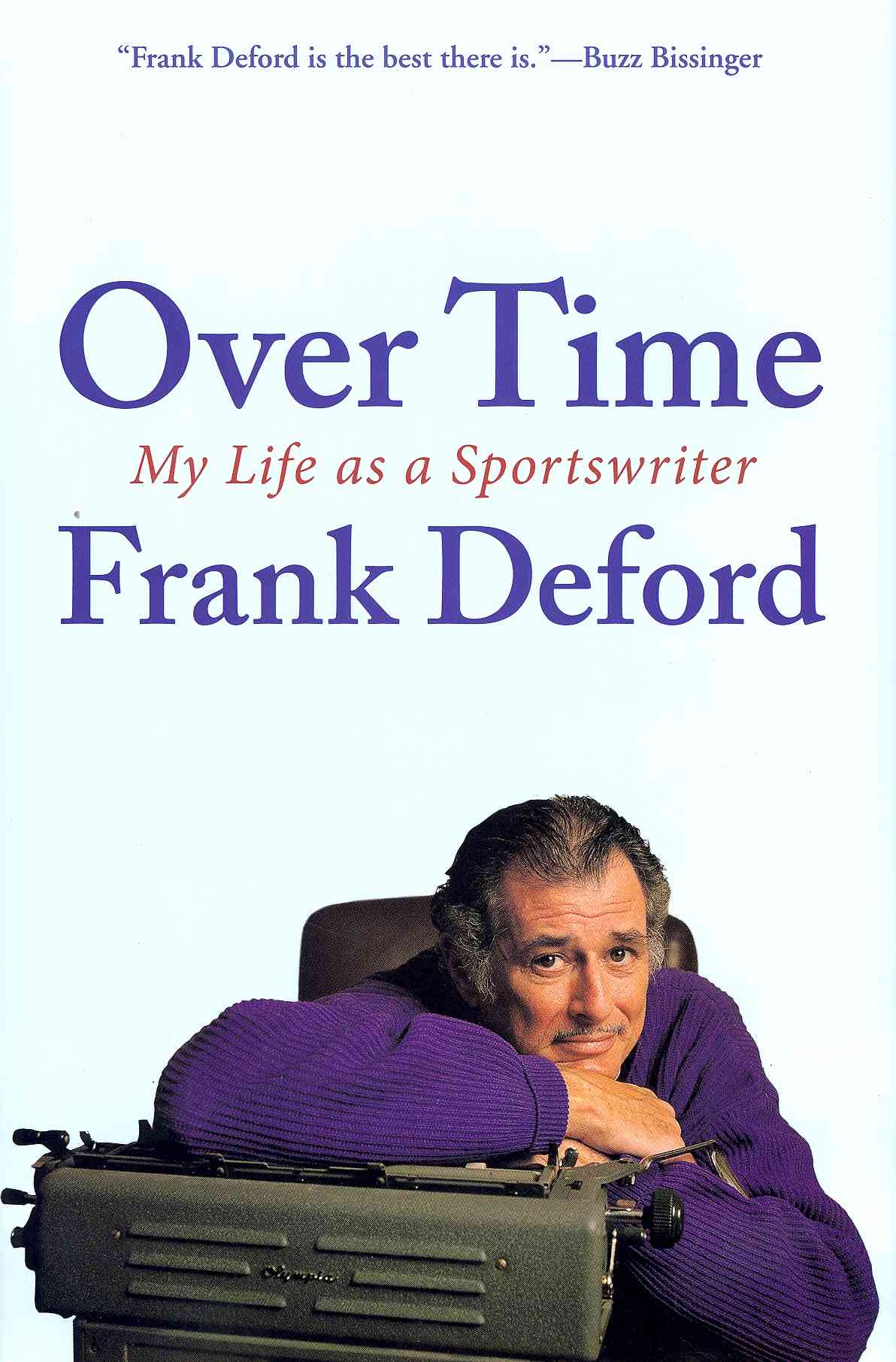 Over Time: My Life As a Sportswriter (Hardcover)