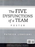 The Five Dysfunctions of a Team (Wallchart)