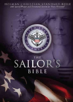 The Sailors's Bible: Holman Christan Standard Sailor's Bible, Devotional, Black, Simulated Leather (Paperback)