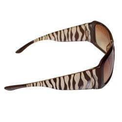 Adi Designs Women's 'CE10217' Zebra Frame Sunglasses