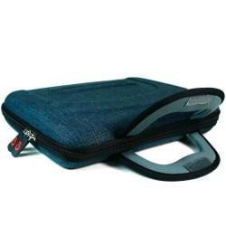 Kroo Blue Denim Jean 10-inch Netbook Sleeve