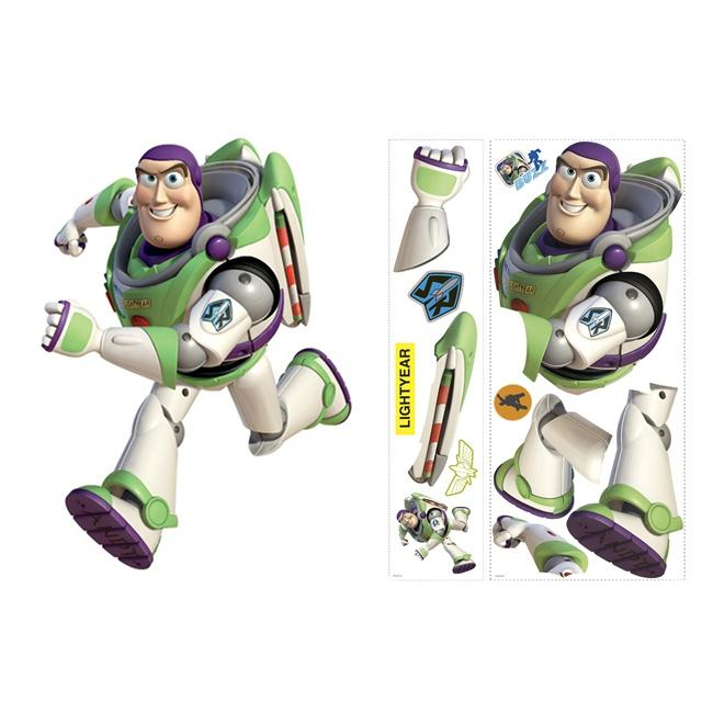 Toy Story 3 Buzz Peel and Stick Giant Wall Decals