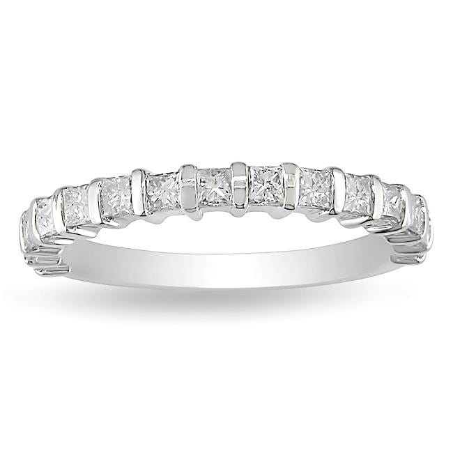 14k White Gold 3/4ct TDW Diamond Anniversary Ring (H-I, I2-I3)