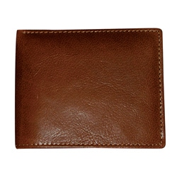 Dopp Men's Mahogany Convertible Bi-fold Wallet